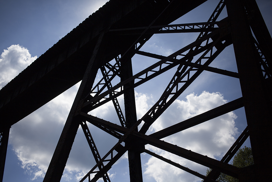 Sweeneysburg trestle bridge